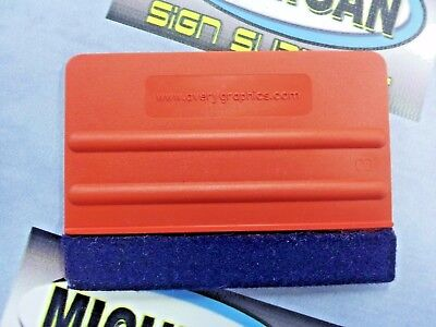Avery Red Felt Edge ProFlex Squeegee