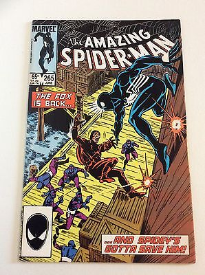 Amazing Spider Man #265 1st Silver Sable! Black Cat! FREE PRIORITY SHIPPING!!!