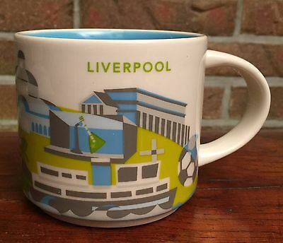 Starbucks You Are Here Collection Liverpool YAH NEU mit SKU Nummer