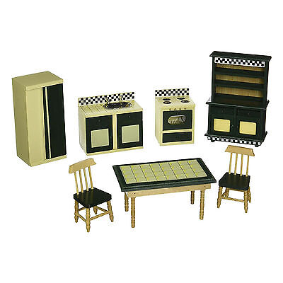 Melissa And Doug Doll House Furniture Kitchen Set NEW Play Traditional