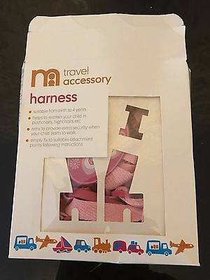 Mothercare toddler safety Harness reins New in box