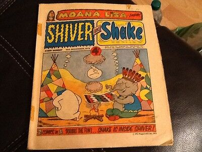 SHIVER AND SHAKE  Paper comic 1973 ISSUE NUMBER 41 Still in great condition