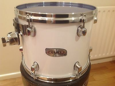 """Drum High Tom Drum Mapex  Pro M Series 13"""" In Gloss White"""