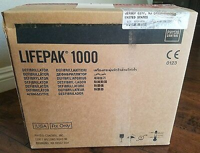 New and Sealed Physio Control Lifepak 1000 AED