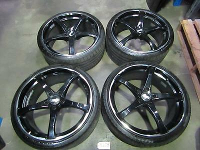 Vt-Vx-Vy-Vz Commodore 20 Inch Advanti Black Wheels And Tyres