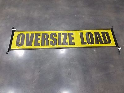 Oversize Load Banner with Bungee