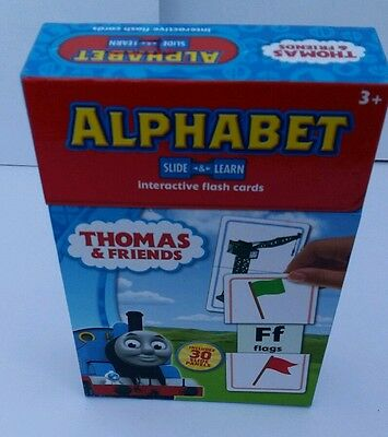 Thomas and Friends Alphabet Interactive Flash Card
