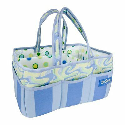 TRLB-30397-Trend Lab Dr. Seuss Storage Caddy, Oh, the Places Youll Go! Blue
