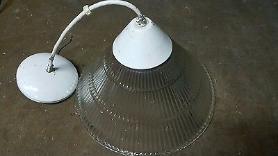 Vintage Holophane Pendant Light