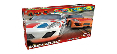 Scalextric G1102 Micro Scalextric Pro Grid Set New 1:64 Scale