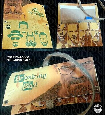BREAKING BAD NEW ! SERIES! RARE!TV! Porta tabacco tobacco leads !BREAKING BAD