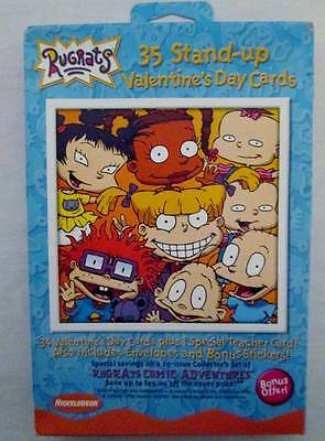 NOS Deadstock Vintage Valentines Cards Boxed Sealed American Greetings RUGRATS