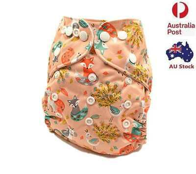 New Baby Unisex Pocket Modern Cloth Nappy One Size Fit All Pocket Nappies (D41)