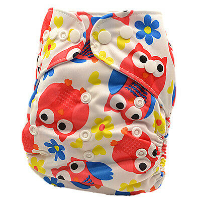 New Baby Girl Girly Unisex Modern Cloth Nappy One Size Fits All Nappies (D84)