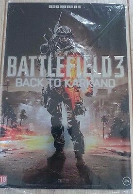 "Battlefield 3 ""Back to Karkand"" : Metal Plate/Litho A4 [Collector - Xbox360/Ps3]"