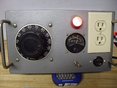 Assembly 6A VARIAC with meter Ham Radio