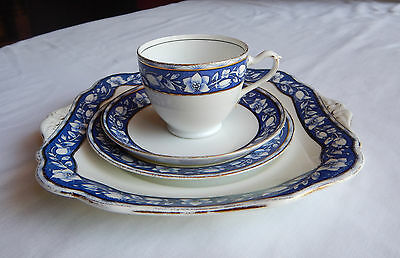 A.b.j & Sons Grafton 4 Pc Dinner Setting - Cup, Saucer, Side And Dinner Plate