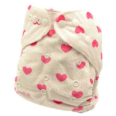 Baby Girl Modern Cloth Nappies Diapers Diaper Insert Reusable Washable MCN (M38)