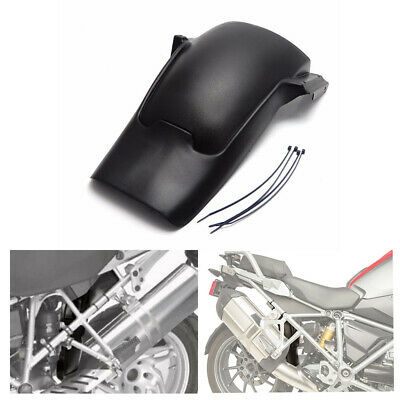Black Rear Splash Guard Fender Mudguard For BMW R1200GS Adventure ADV 2013-2017