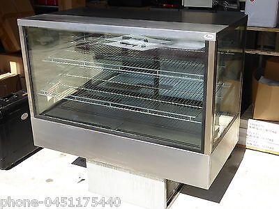 Cake Fridge Refrigeration Sandwiches  Stainless Steel2 Shelves Large And Cold