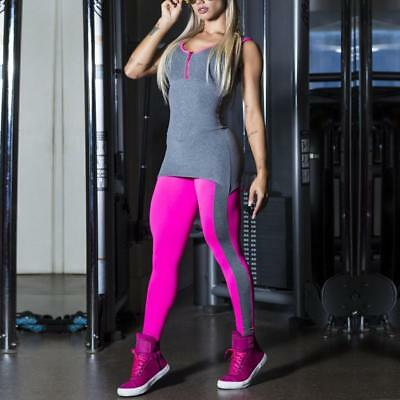 Women Jumpsuit Sport Gym Yoga Running Fitness Legging Pants Athletic Clothes