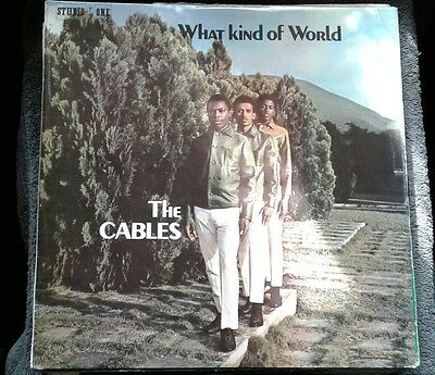 What Kind of Man-The Cables- Studio 1- Orig LP 33""
