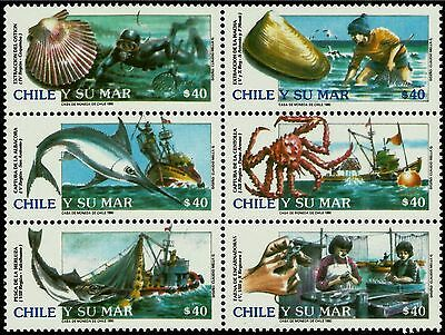 Chile, Marine Resources Year 1990, Mnh