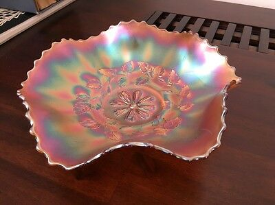Antique Glass Bowl Floral