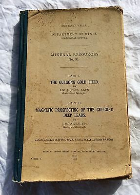 Mineral Resources No 38-Gulgong Gold Field,Magnetic Prospecting Of Deep Leads