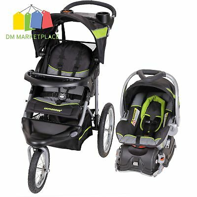 Baby Trend Expedition Jogger Travel System Stroller Car Seat Combo Infant NEW