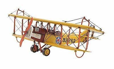 OMHI-AJ015-Old Modern Handicrafts 1918 Curtiss JN-4 Collectible, 1:24-Scale, Ye