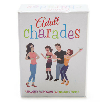 Adult Charades Game - Novelty Naughty Fun Adults Board Game - Buck Or Hens Night