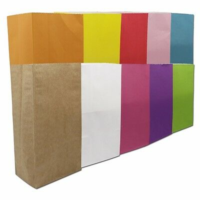 Open Top Kraft Paper Stand Up Gift Wedding Bag with Many Colors Paper Pack Pouch