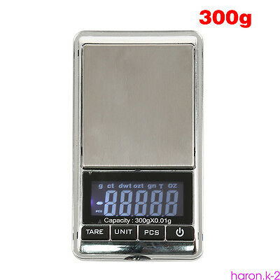 Electronic Pocket Mini LCD Digital Jewelry Weighing Scale Weight 100g-500g