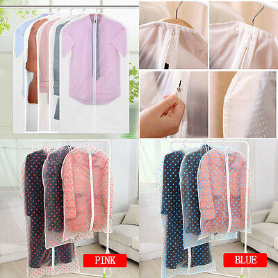 Wholesale Clothing Dust Cover Garment Storage Protector Bag Hanging Wardrobe
