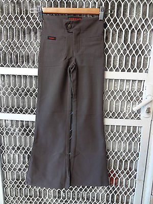 Girl size grey stretch pant for school uniform or casual only size 4 and 14