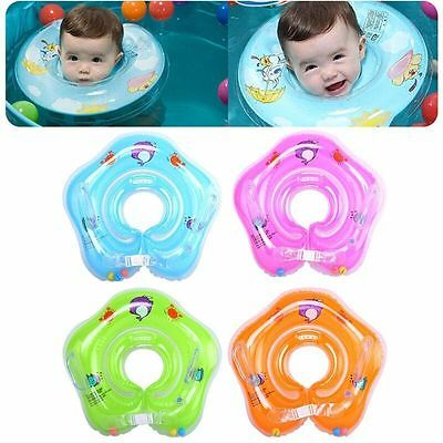 Wholesale Safety Baby Swimming Neck Float Ring Infant Bath Pool Beach Circle Toy