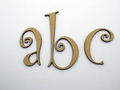 10cm Large Wooden Letter Words Wood Letters Alphabet Name Wedding CUR Lowercase
