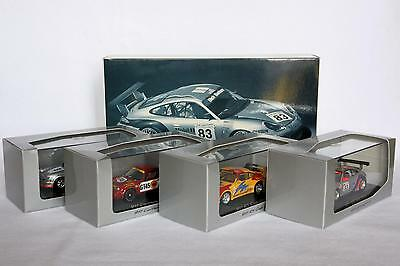1:43 WAP 020 Set 05 Porsche 911 Racing - Minichamps