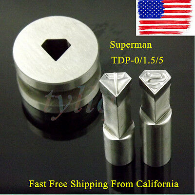 NEW Superman Punching Die Mold Stamp for candy tablet press mold pill maker USA