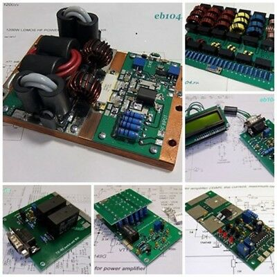 Full Kit Hf Amplifier 1000W 1.8-50Mhz Ldmos Lpf Blf188Xr With Protector