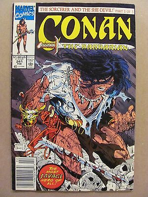 Conan The Barbarian #241 Marvel Todd McFarlane Cover Newsstand Edition