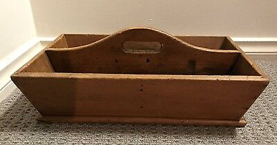 Antique Country style wooden open box