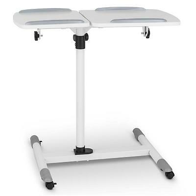 PROJECTOR TABLE ADJUSTABLE SHELF HEIGHT TILTING STAND TROLLEY 10kg MAX OFFICE