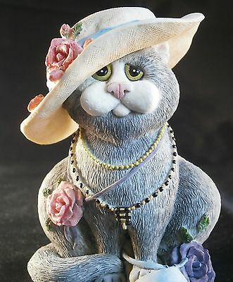 """Border Fine Arts Comic & Curious Cats Collection """"Second hand Rose  """" A1900"""