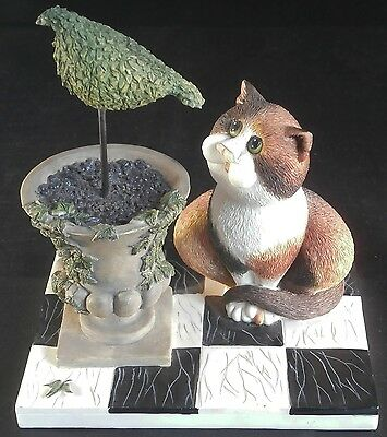 """Border Fine Arts Comic & Curious Cats Collection """"A Bird in the Hand """" A2185"""