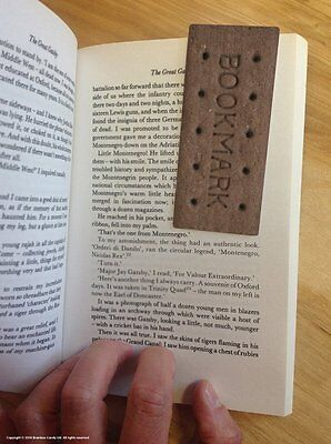Funny Magnetic Bookmark Bourbon Biscuit Cheap Gift Present New Sealed Marker Fun
