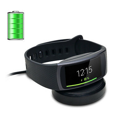 Charging Holder Adapter Cradle Dock for Samsung Smart  Watch Gear Fit2 SM-R360