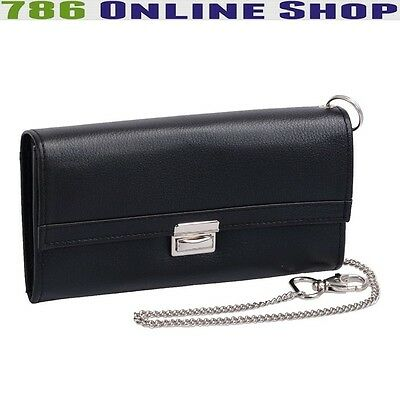 Leather Waiter Wallet Server (161B) Taxi Purse Catering NEW