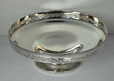 Manoah Rhodes & Sons 250g 1924 Sterling Silver Tazza Fruit Bowl